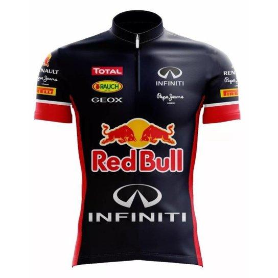 c45f45c0e5 Camisa Scape Red Bull Ciclismo Tradicional - Compre Agora