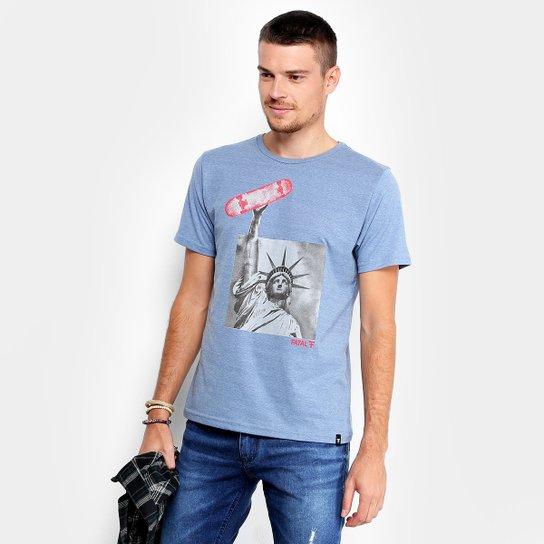 Camiseta Fatal Estampada Liberdade Skate Masculina - Compre Agora ... b12f4d68cae