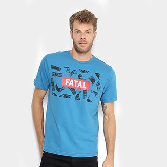 f4b91b02c7 Camiseta Fatal Money Masculina