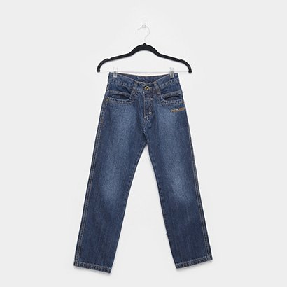 Calça Jeans Juvenil Fatal Reta Masculina