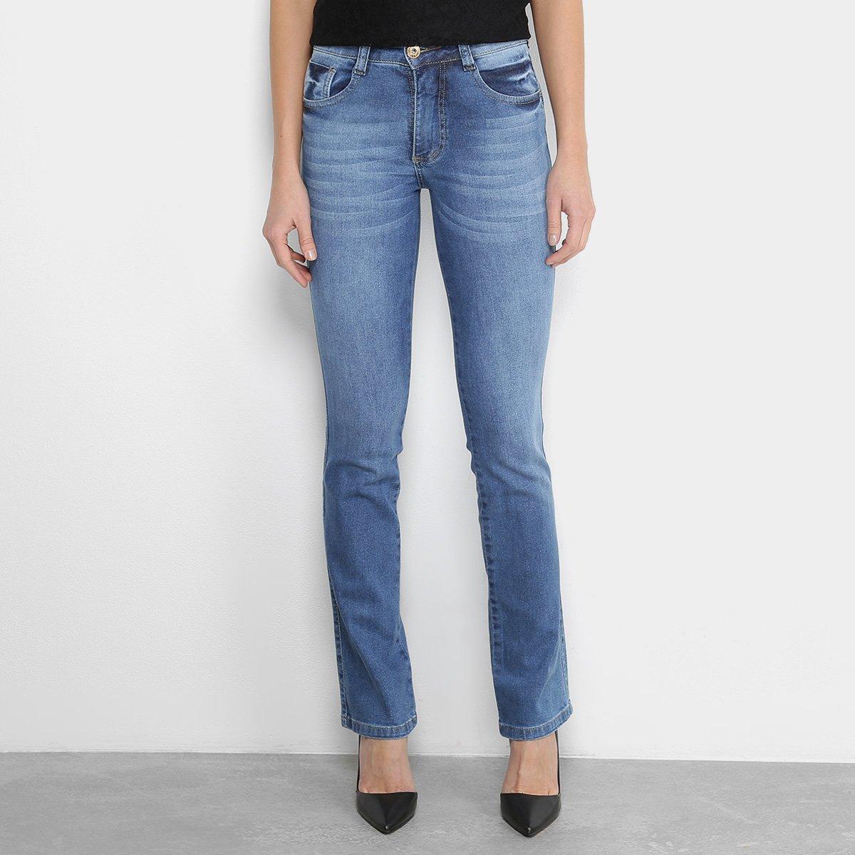 ff1d23785 Calça Jeans Biotipo Reta Feminina
