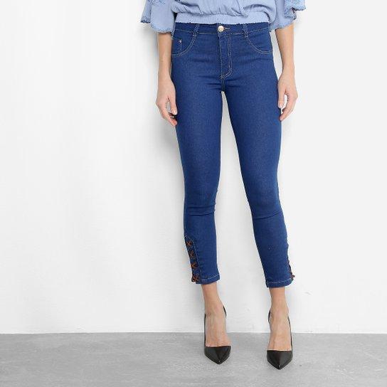 Calça Jeans Biotipo Cigarrete Tiras Feminina - Compre Agora  46af4afccab