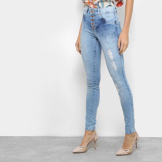 5daa1cbd1 Calça Jeans Cigarrete Biotipo Cintura Alta Feminina   Netshoes