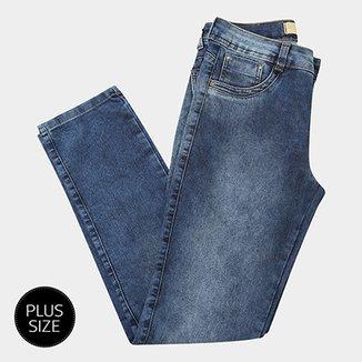 d0c356d7b Calça Jeans Biotipo Alice Cigarrete Plus Size Feminina