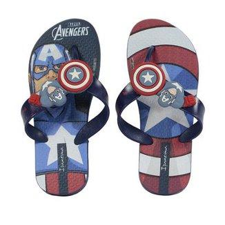Chinelo Infantil Ipanema Avengers Combat Masculino ad3b06ff6ba05