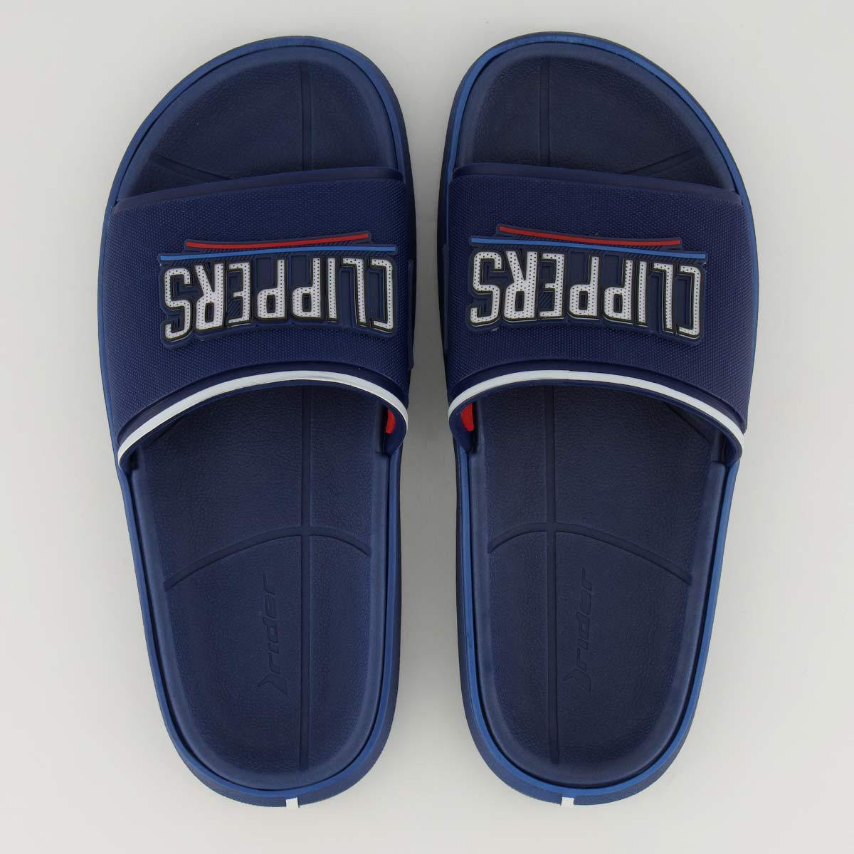 Chinelo Slide NBA Los Angeles Clippers Rider Masculino