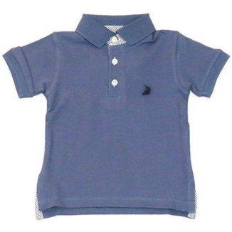 7b76388c4 Camiseta Polo Infantil Squalo Masculino