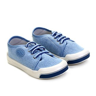 982739976ec Tênis Infantil Pimpolho Jeans Básico Masculino