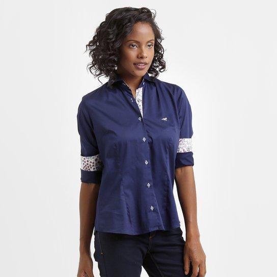 Camisa Social Feminina Palla D Oro Cruzeiro - Compre Agora  b68bbe9196710