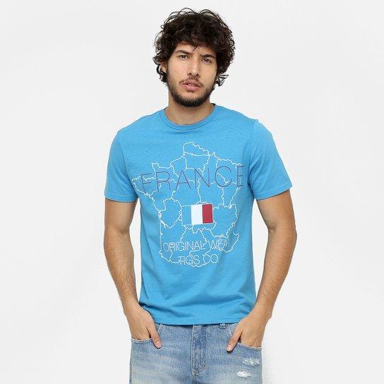 Camiseta Tigs France - Compre Agora   Netshoes 8c3e50624a