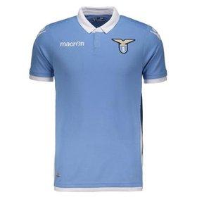 Camisa Lazio I 14 15 s nº Torcedor Macron Masculina - Compre Agora ... 35b7e4d9842d9