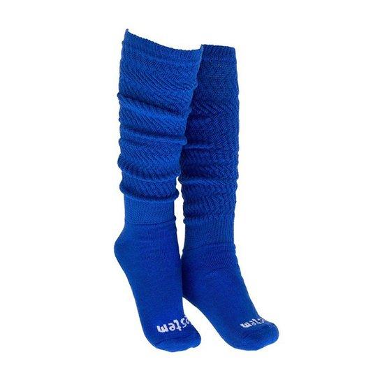 e05faf93d Meia Aeróbica Longa 04 - Vestem - Azul