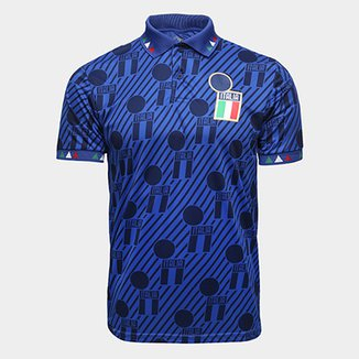 bdab61d68527d Camisa Polo Itália Retrô Times 1994 Masculina