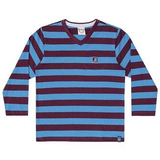 eacde7430f8ae Camiseta Manga Longa Infantil Boca Grande Masculino