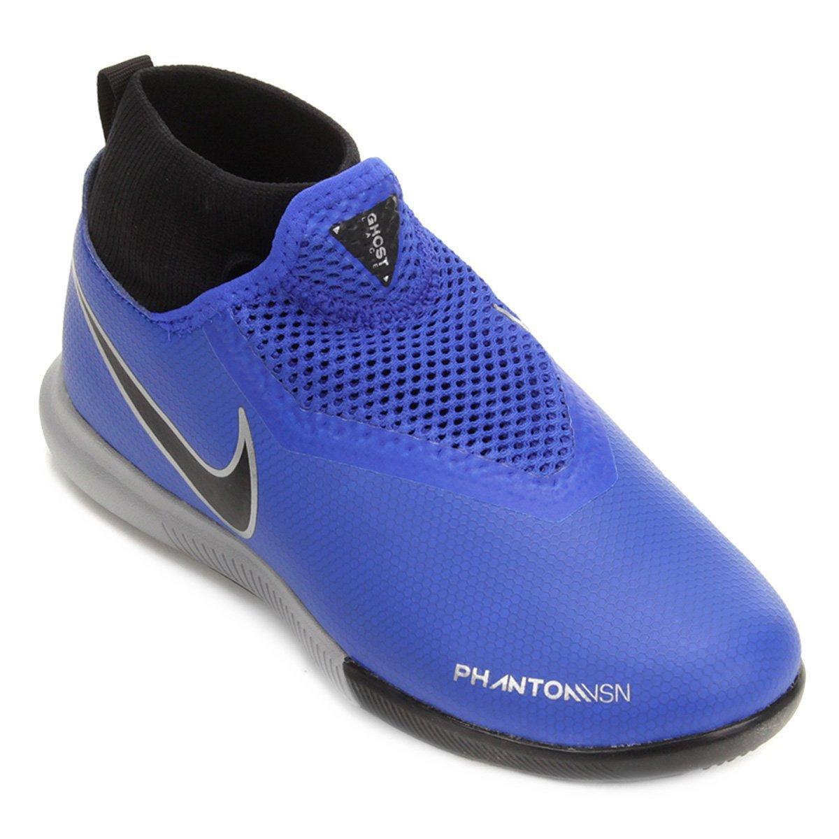 Chuteira Futsal Infantil Nike Phantom Vision Academy DF IC  31ca72242bfe1