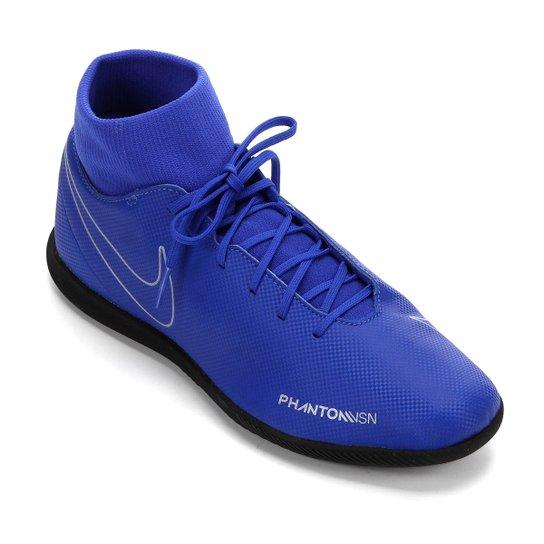 d027429211ca0 Chuteira Futsal Nike Phantom Vision Club DF IC - Azul - Compre Agora ...