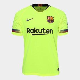 bc84ef0a09 Camisa Barcelona Home 17/18 Nº 3 Piqué Torcedor Nike Masculina ...