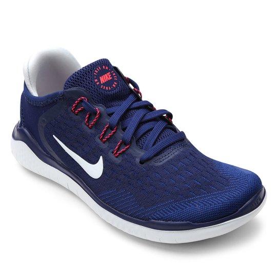 Tênis Nike Free Rn 2018 Feminino - Azul - Compre Agora  b76de6b360ace