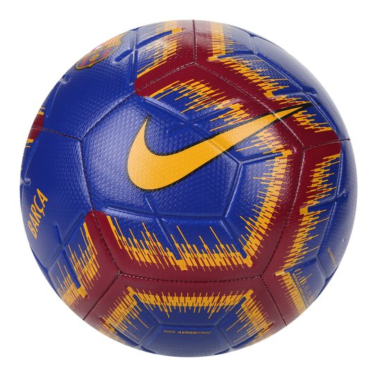3edc1386d Bola de Futebol Campo Barcelona Nike - Azul - Compre Agora