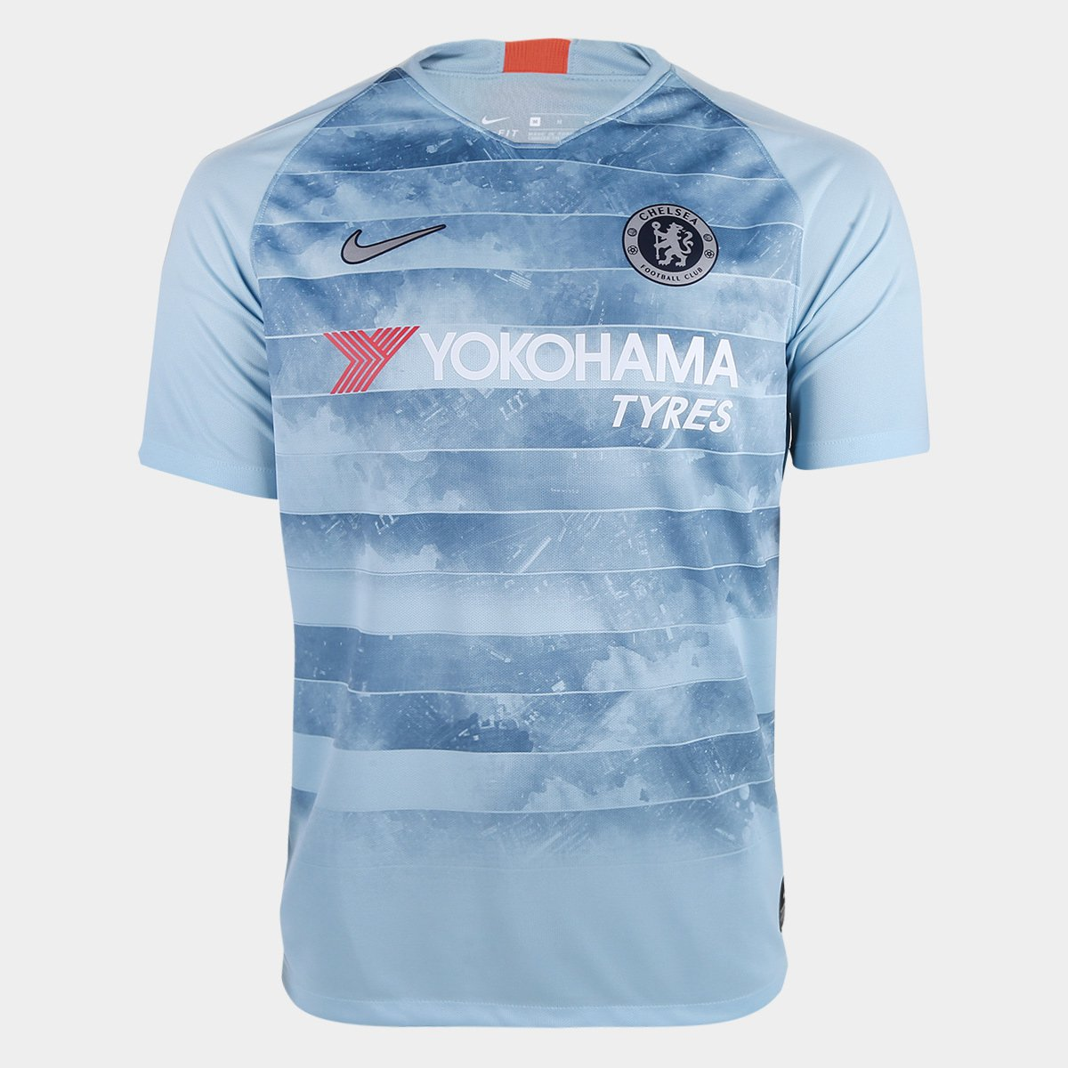 Camisa Chelsea Third 2018 s n° - Torcedor Nike Masculina 481360c2e4e30