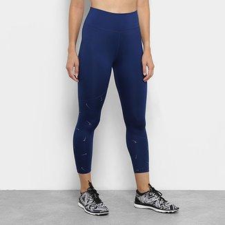 Calça Legging Nike One Crop Printed Feminina 19bdf5e783cd0