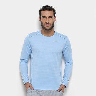 3f710e6f00985 Camiseta Nike Dry Miler Ls Manga Longa Masculina