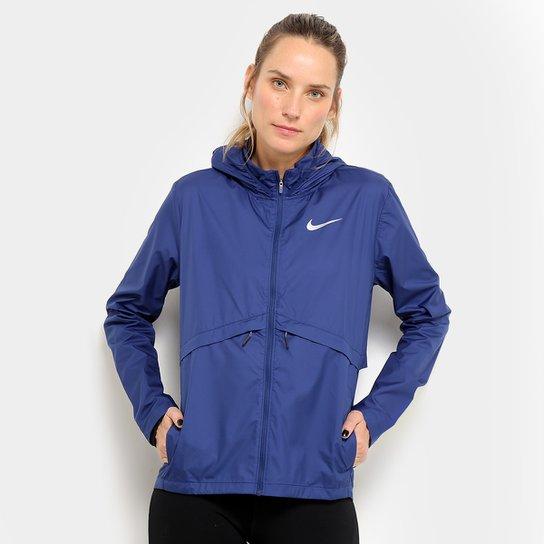 06b2f7aee3 Jaqueta Nike Essential HD com Capuz Feminina - Azul