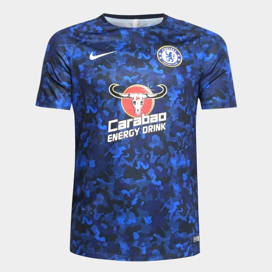 30cc778278923 Camisa Chelsea Treino 19 20 Nike Masculina - Azul - Compre Agora ...
