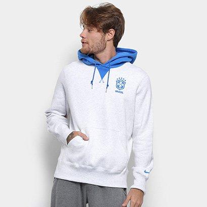 Moletom Brasil Nike Hoodie Cre Masculino