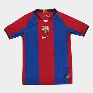712270ff6 Camisa Barcelona Infantil 98 99 s n° Torcedor Nike - Edição Limitada
