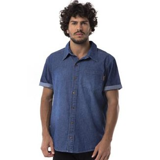 Camisa Jeans Long Island DG Masculina