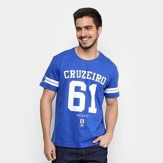 f25d8a6dbf538 Camiseta Cruzeiro 61 Masculina