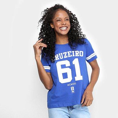 Camiseta Cruzeiro 61 Feminina