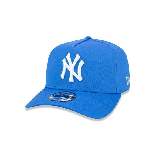 2576f4a7b1f5c Boné 940 New York Yankees MLB Aba Curva Snapback New Era - Azul ...