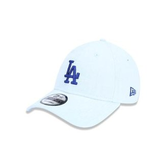 Boné 920 Los Angeles Dodgers MLB Aba Curva Strapback New Era 281c8ac3afd