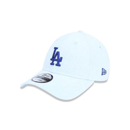 Boné 920 Los Angeles Dodgers MLB Aba Curva Strapback New Era - Azul ... a3a24caf86d