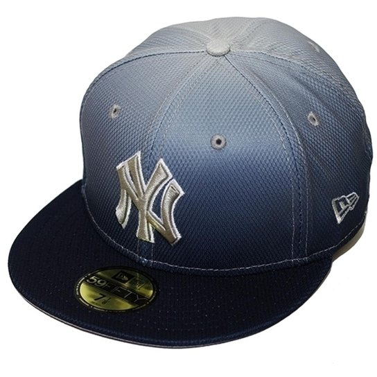 Boné New Era Aba Reta Fechado Mlb Ny Yankees Diamond Era Gradation - Azul 6c40594e60e