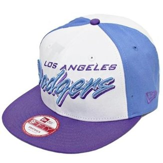Boné New Era Aba Reta Snapback Mlb Los Angeles Gamer ff7d2a6d5a352