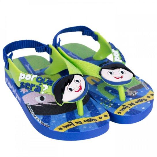 7ee7d09257 Chinelo Infantil Grendene Ipanema Show da Luna 26039 - Azul - Compre ...