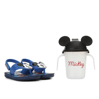 Sandália Infantil Disney Grendene Kids Mickey E Minnie Copinho Divertido...