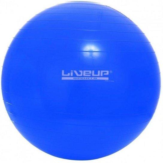 Bola de Pilates - 65 cm LiveUp - Azul - Compre Agora  3d9da18cf6a42