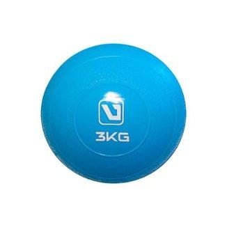 89dc80e192714 Bola com Peso Toning Ball com 3kg Liveup