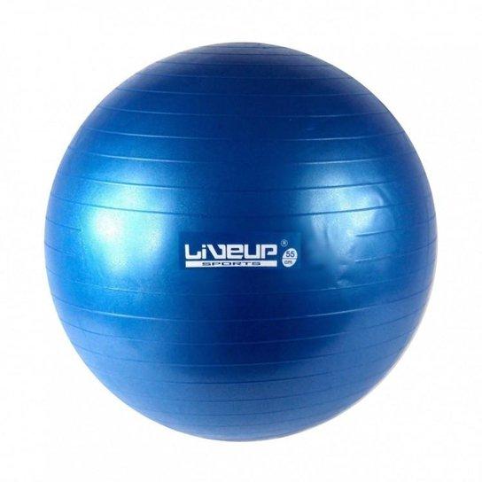 Bola Suiça para Pilates 55cm Azul LiveUp Premium - Azul - Compre ... 993e8b301e838
