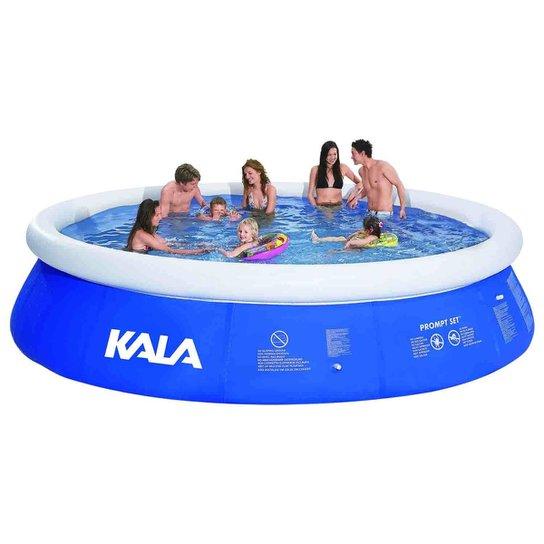 79ff2575693d8 Piscina prompt set 10200 Litros com Bomba de Filtragem 127V - Kala - Azul