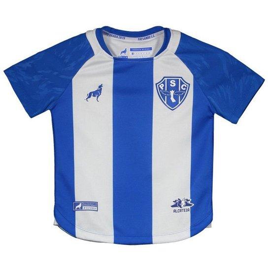 1914baf0b Camisa Lobo Paysandu I 2019 Nº 7 Juvenil - Azul - Compre Agora ...