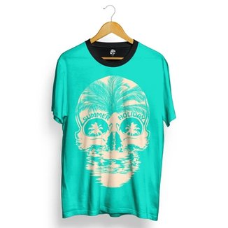b5a5a90cd9 Camiseta BSC Skull Summer Holiday Total Full Print