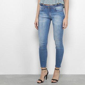 630aa9cc25d Calça Jeans Skinny My Favorite Thing (s) Low Second Estonada Cintura Média  Feminina