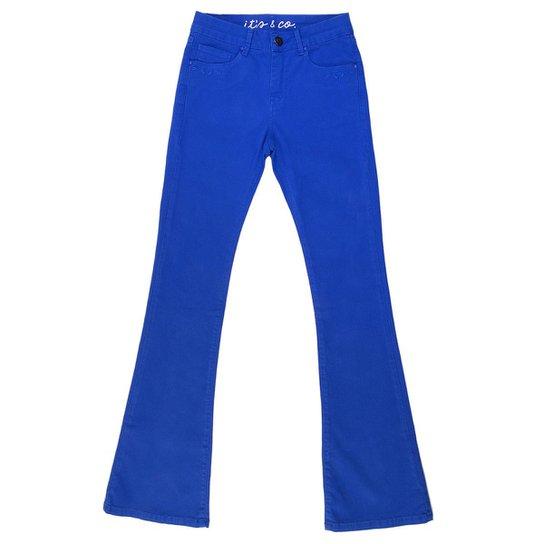 145ae3bd0 Calça It´s & Co Chloé Bootcut Feminina - Azul | Netshoes