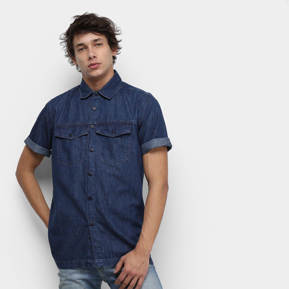 Foto 1 - Camisa Jeans Tommy Jeans Workerwear Denim Masculino