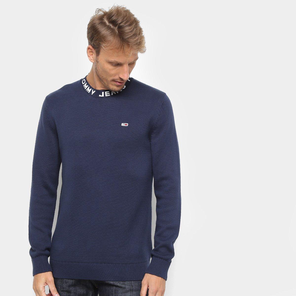 Foto 1 - Suéter em Tricô Tommy Jeans Masculino